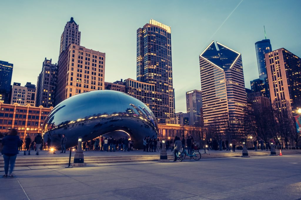 Cloud Gate is one of the top Chicago Tourist Traps
