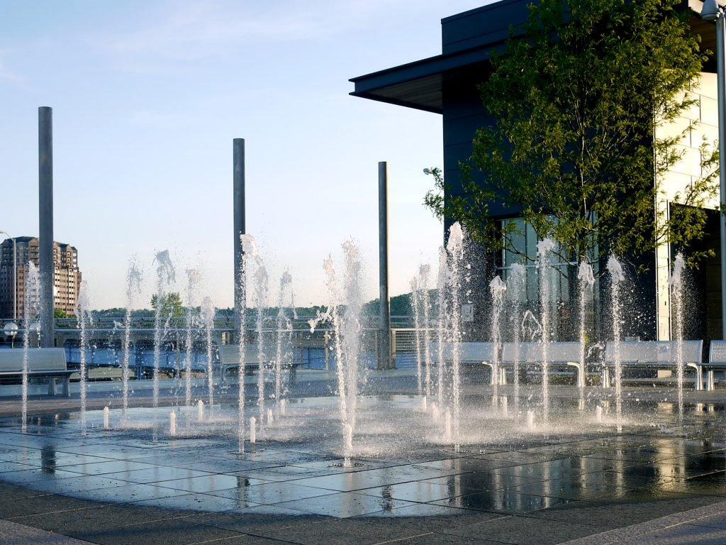Smale Riverfront Park is among the many free things to do in Cincinnati