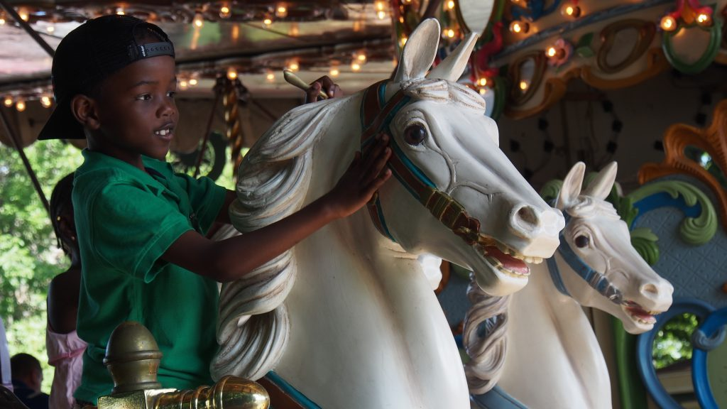 The Merry-Go-Round museum is a must when visiting Sandusky attractions