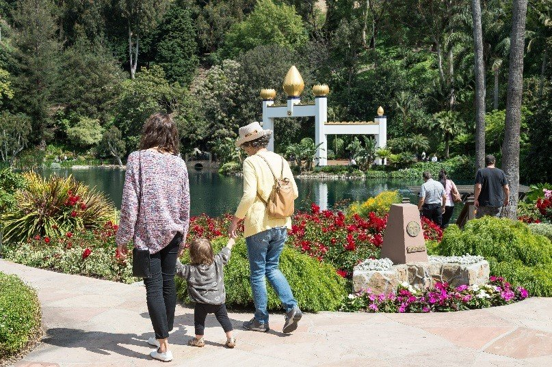 The Meditation Gardens are among the best San Diego hidden gems.