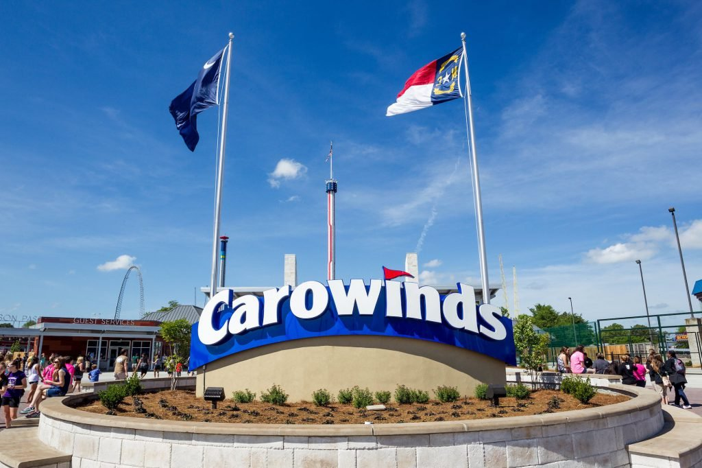 Carowinds is one of the most fun things to do in Charlotte