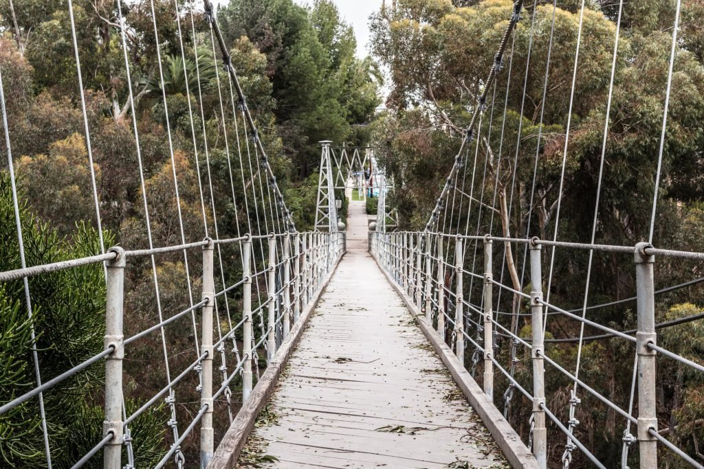 The Spruce Street Suspension Bridge is among the top San Diego hidden gems.