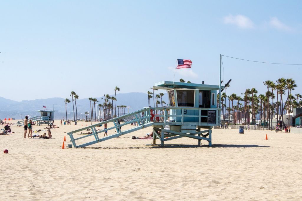 Hit the beach on one of your 2 days in Los Angeles
