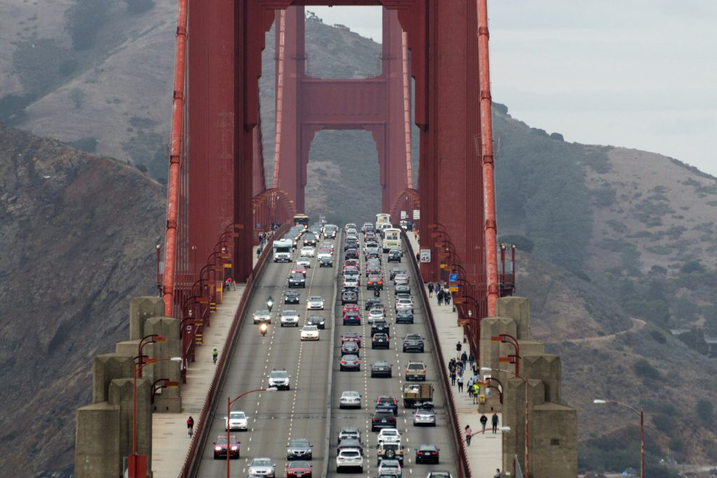 Is driving over the Golden Gate Bridge on your San Francisco bucket list?