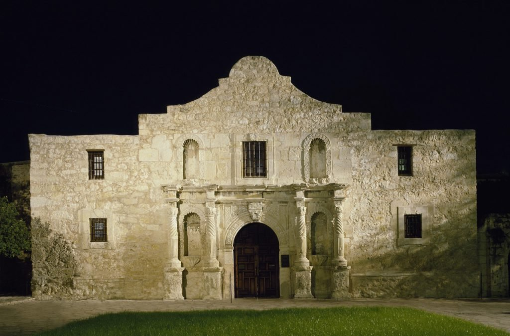 The Alamo is known to have a few hundred ghosts lurking around inside