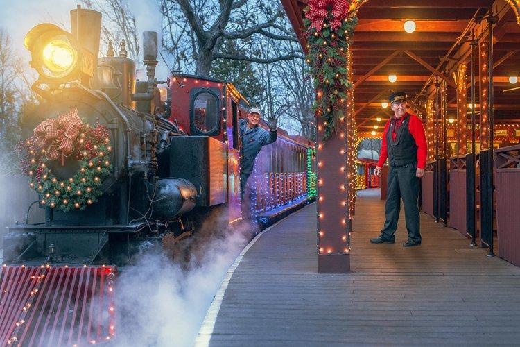 Theme Park Christmas Celebrations