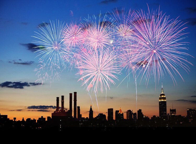 best US cities for new year's eve