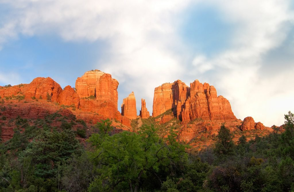 Hiking Cathedral Rocks is one of the best free things to do in Sedona.