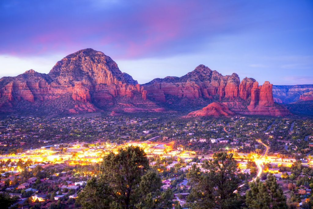 Seeing a Sedona sunset is one of the best free things to do in Sedona.