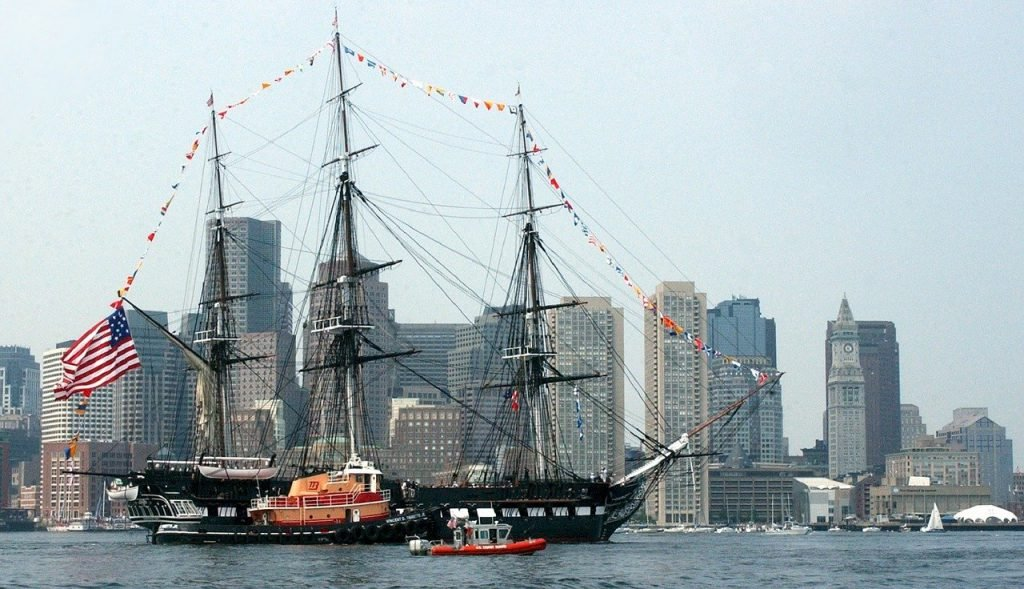Touring the USS Constitution is one of the top free things to do in Boston